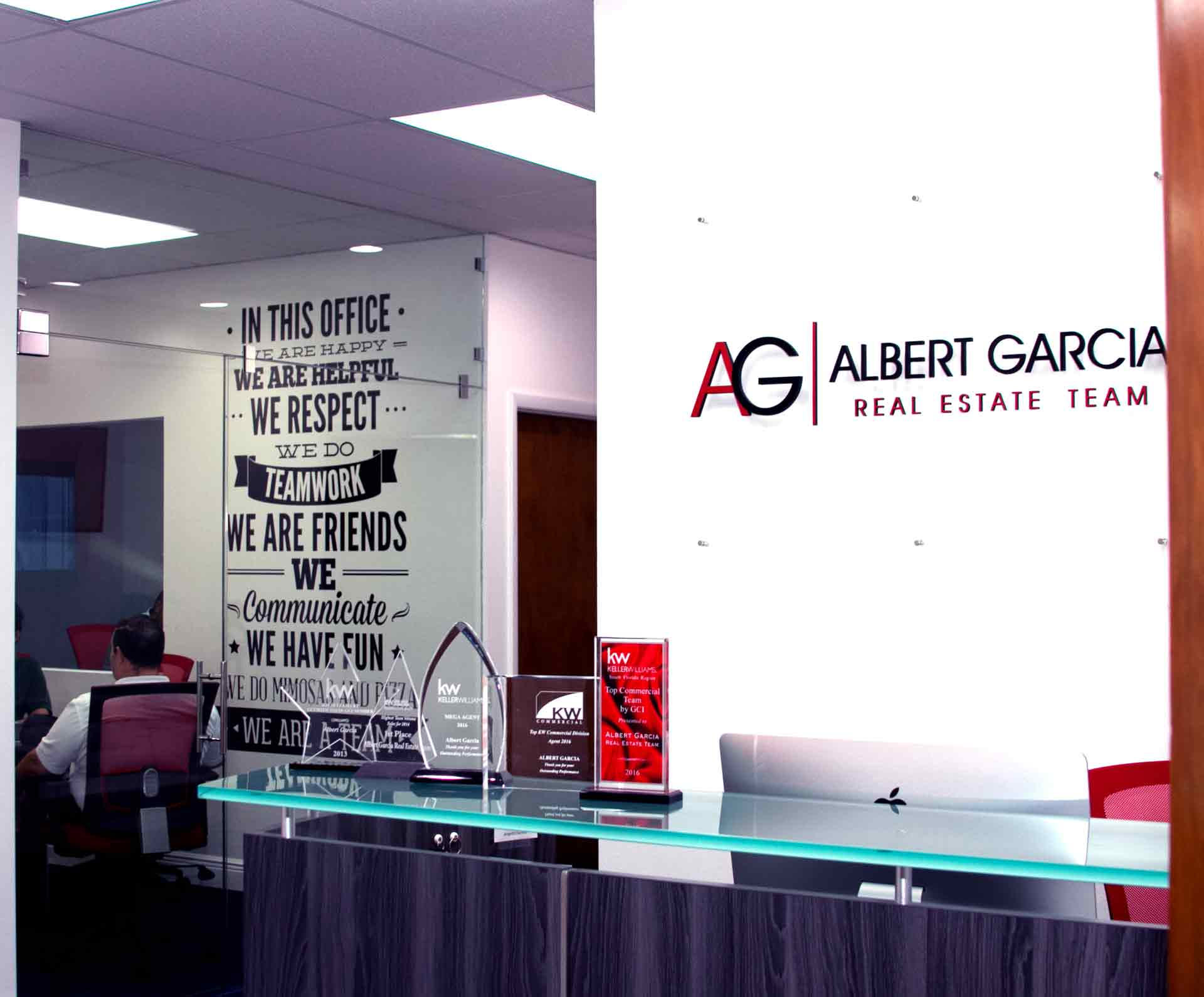 Albert Garcia Team headquarters