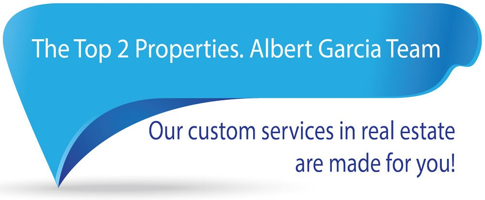 Albert Garcia Team Miami, top two properties